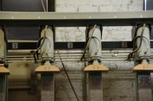 Klijuotos medienos įranga